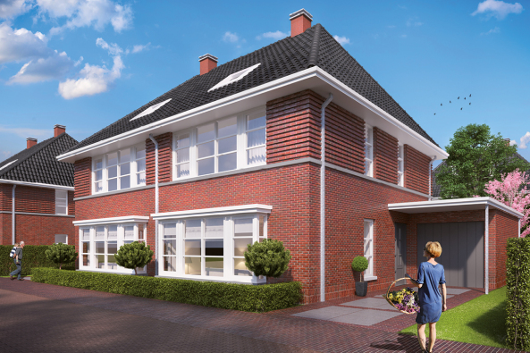 Nieuwbouw woonwijk 39 bo wonen 39 oud beijerland projecten for Mijn funda